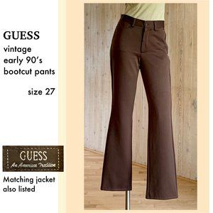 Classic Guess Jeans bootcut pants